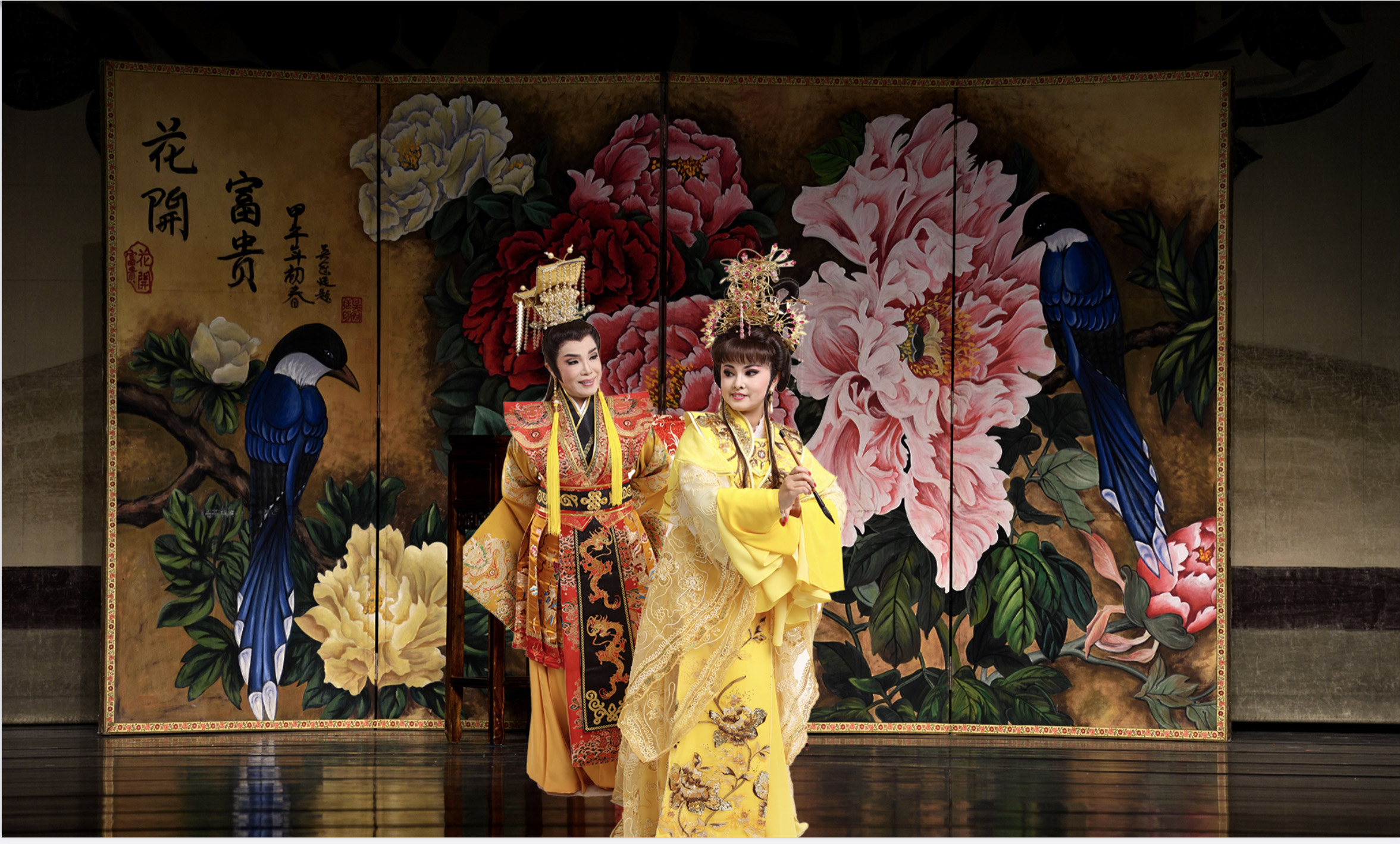 (開新視窗)連至 歡喜劇團-傳統歌仔戲〈紫垣夢迴〉劇照 完整照片