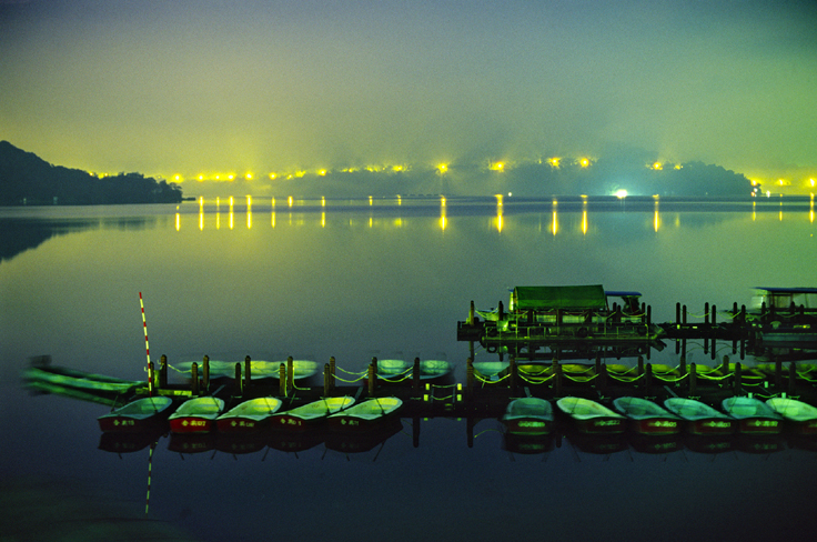 2006 Photography Competition Bronze Medal Xu, Su-zhen - Night View of Sun Moon Lake